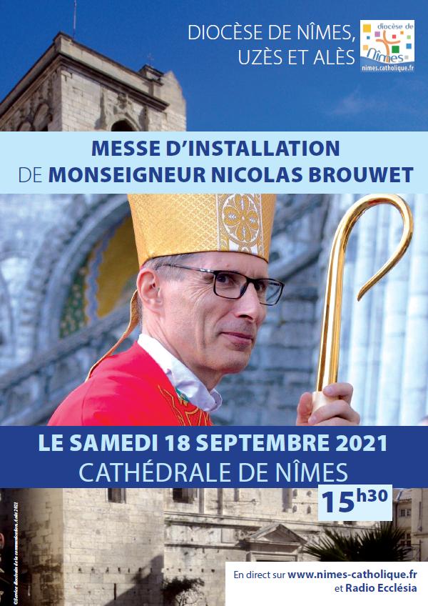 Messe d'installation de Mgr Nicolas Brouwet